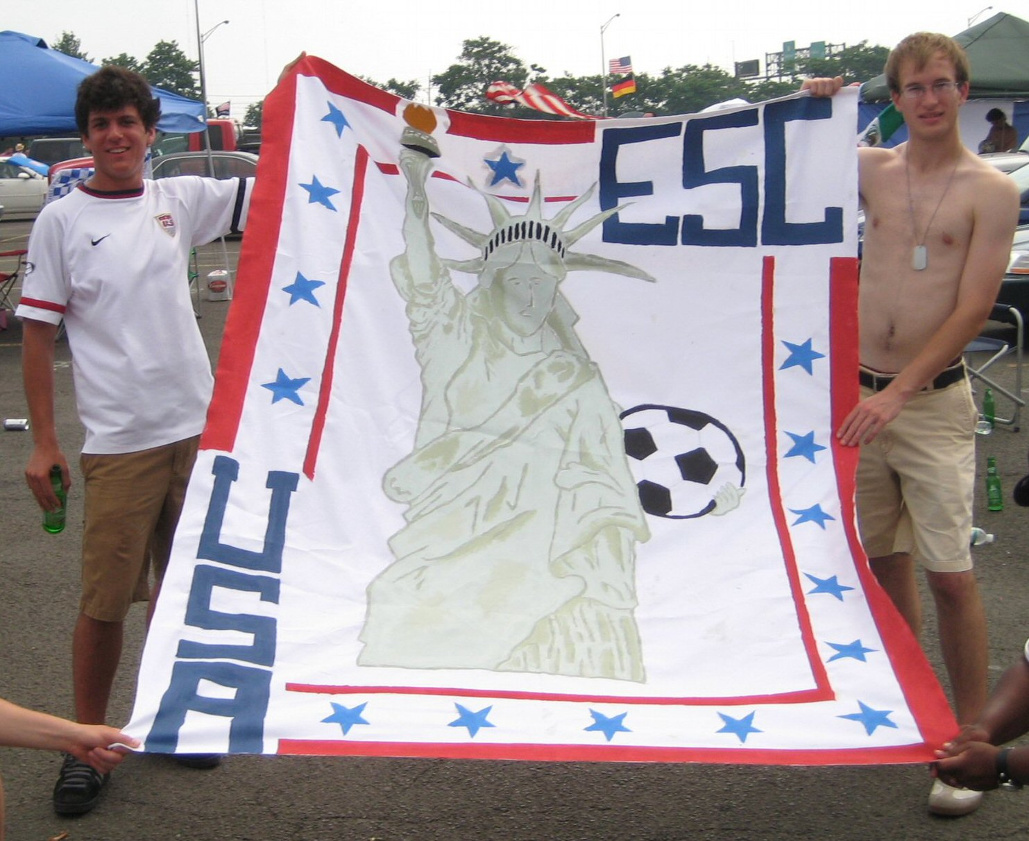 Lady Liberty Loves Soccer